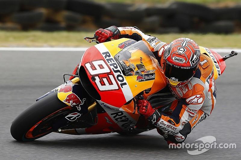 Marquez lidera sexta-feira na Austrália; Rossi é 9º