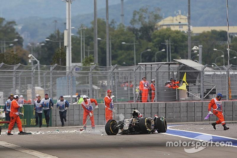 Pas d'explication technique pour l'accident de Grosjean