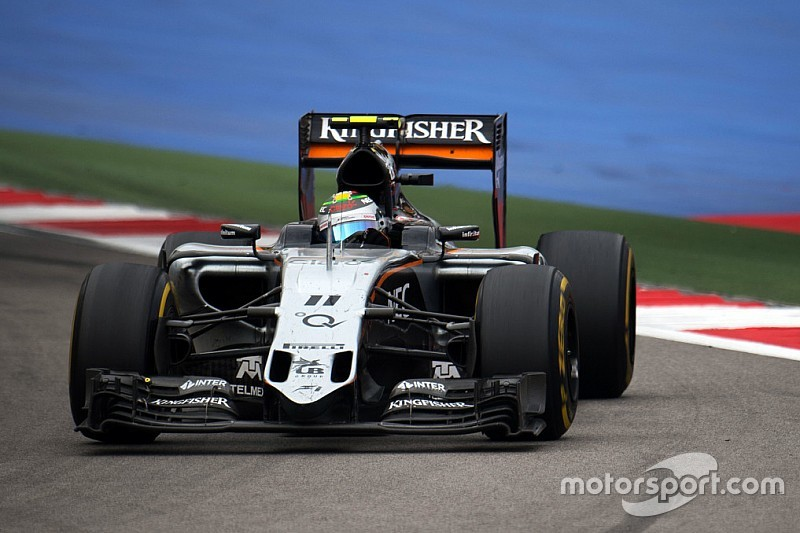 Sahara Force India: Podium in Sochi increase hopes of a strong race in Austin