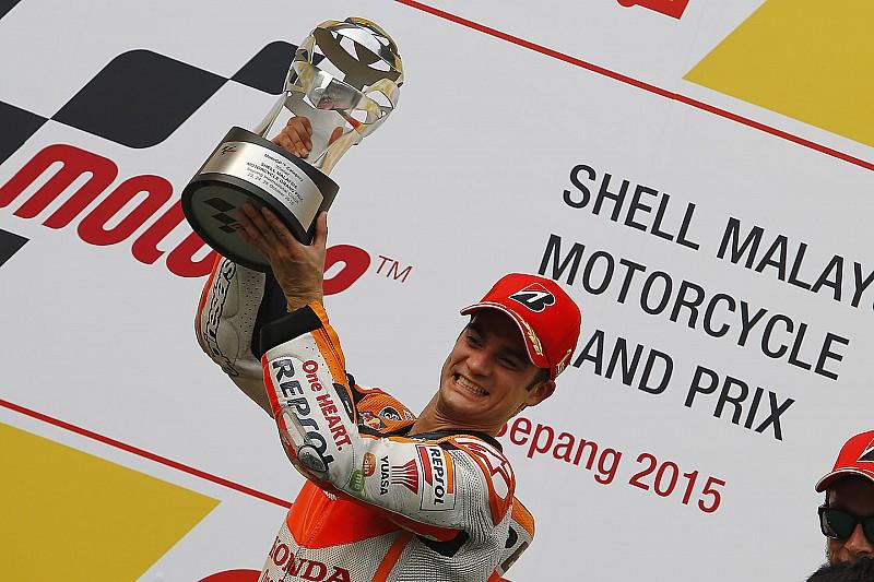 Sepang MotoGP: Pedrosa wins, Rossi under investigation for Marquez clash