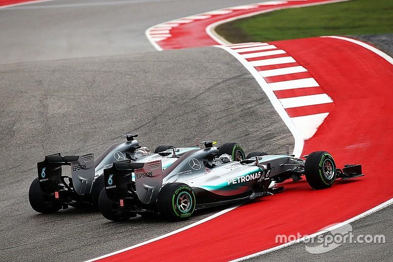 Vers des batailles libres et acharnées entre Hamilton et Rosberg