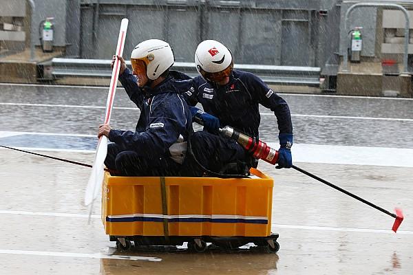 Formel 1 in Austin: Warum Ferrari in der Regenpause nicht mitspielte