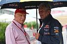 Lauda - Red Bull regrette d'avoir tant critiqué Renault
