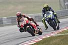 Buscan que Rossi y Márquez firmen la pipa de la paz