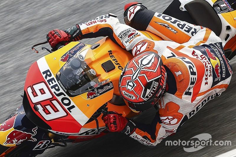 Valencia, Libere 1: Marquez davanti a Lorenzo