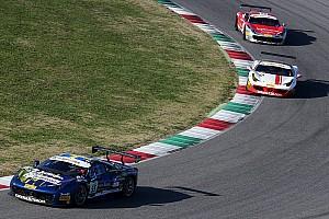 Ferrari Relato da corrida Santoponte vence prova encerrada em bandeira vermelha