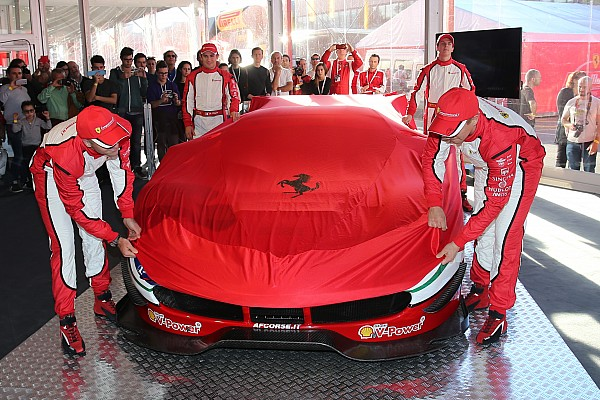 488 GTE & 488 GT3: Ferrari präsentiert neue Sportwagen in Mugello