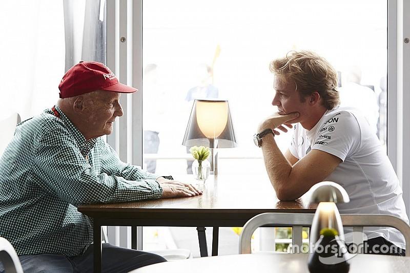 """Lauda - """"J'étais désolé pour Rosberg"""""""