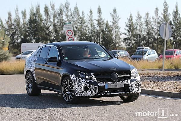 Spyshots - Le Mercedes-Benz GLC 450 Coupé vu pour la première fois