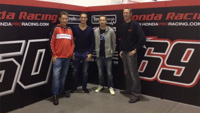 Primo approccio di Hayden con la Honda CBR1000