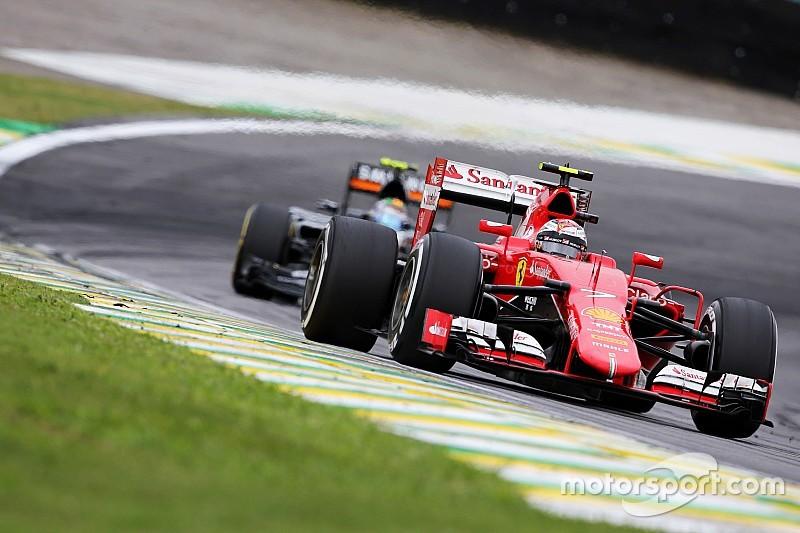 """Raikkonen: """"Boring"""" Interlagos race not unusual"""