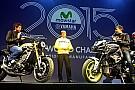 Gelo tra Vale e Jorge al gala Yamaha a Milano
