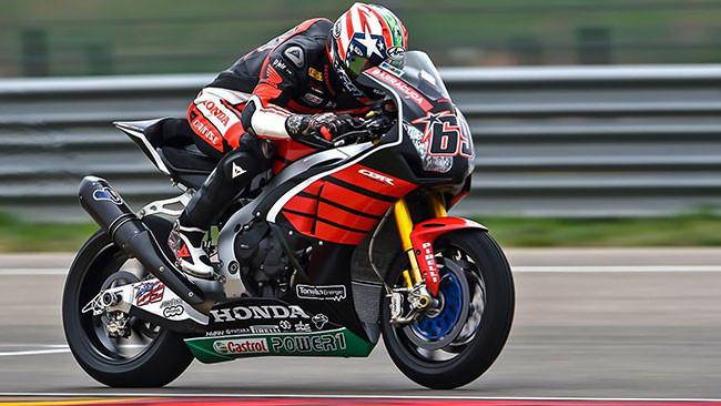 Hayden debutta sulla Honda CBR del team Ten Kate