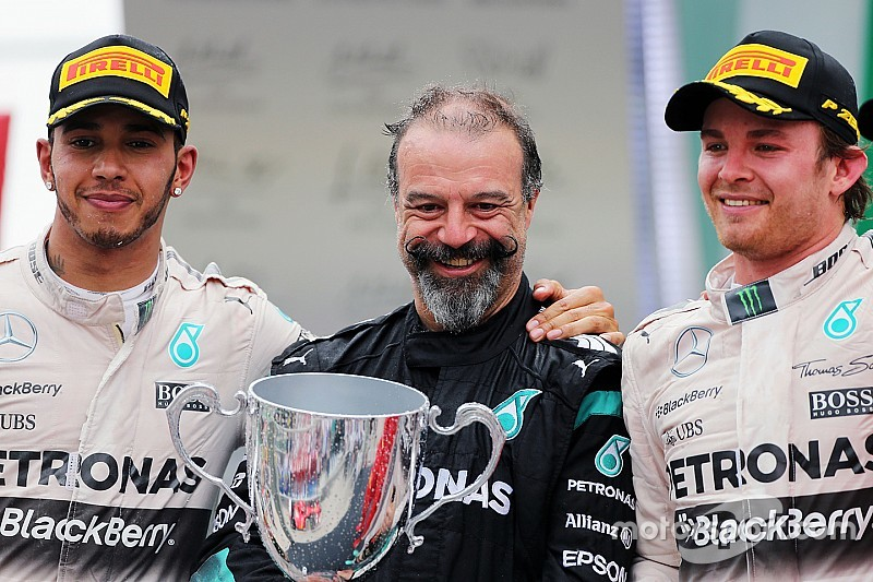 Mercedes compara Nico/Hamilton à rivalidade Senna/Prost