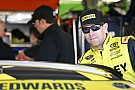 Edwards tops rain-shortened Cup practice, Truex leads contenders