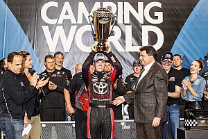 NASCAR Truck Race report Erik Jones crowned youngest champion as Crafton wins Truck finale