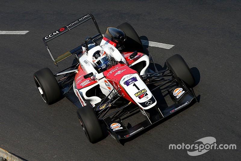 Macau GP: Rosenqvist handed qualifier victory, Giovinazzi penalised