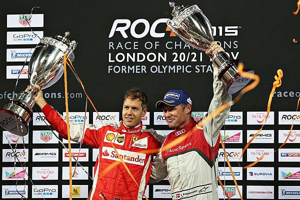 General Vettel defeats Kristensen to win 2015 Race of Champions