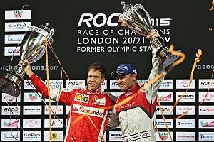 General Race report Vettel defeats Kristensen to win 2015 Race of Champions