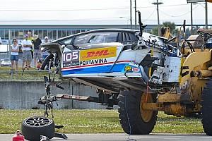 Lamborghini Super Trofeo News Lamborghini-Fahrer übersteht Horrorcrash in Sebring