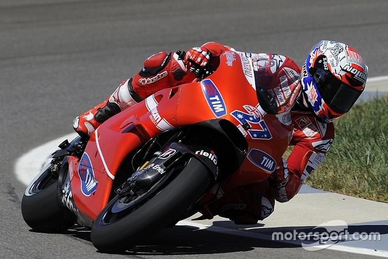 Ducati confirma Stoner como piloto de testes em 2016