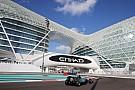 Hamilton supera a Rosberg en la 1° práctica de Abu Dhabi
