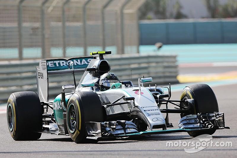 Rosberg dá troco em Hamilton e lidera TL2 em Abu Dhabi