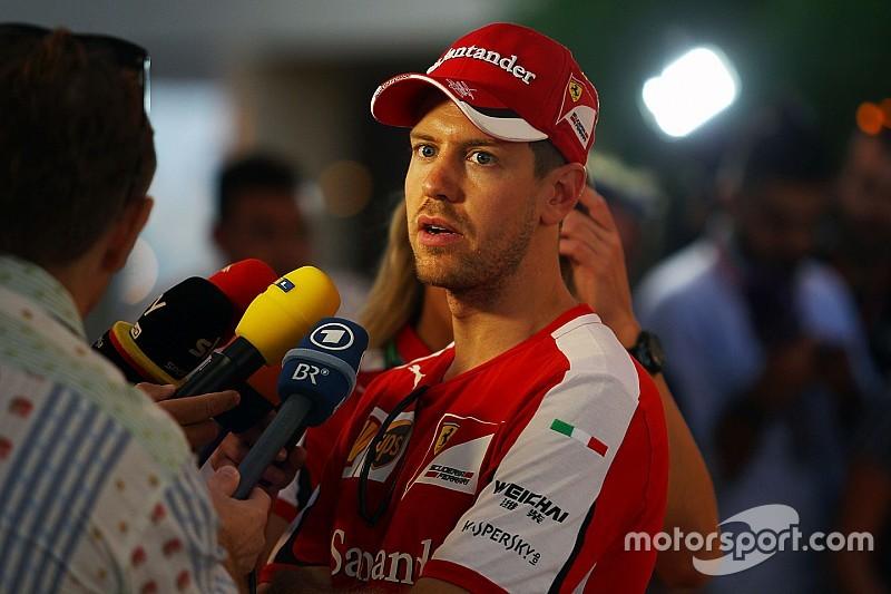 Sebastian Vettel gibt zu, dass Ferrari einen Fehler gemacht hat