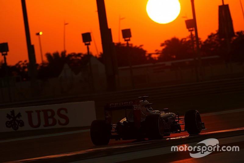 Verstappen scoort twee penalty's en drie strafpunten in Abu Dhabi