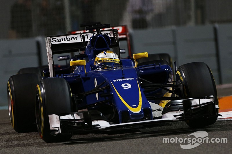 Sauber completes the season with a decent race at Yas Marina