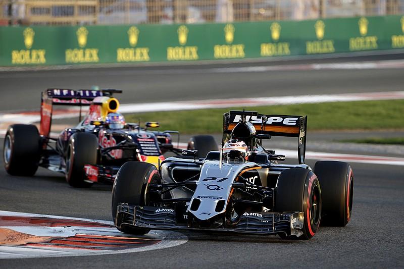 Force India mira bater Williams e Red Bull em 2016