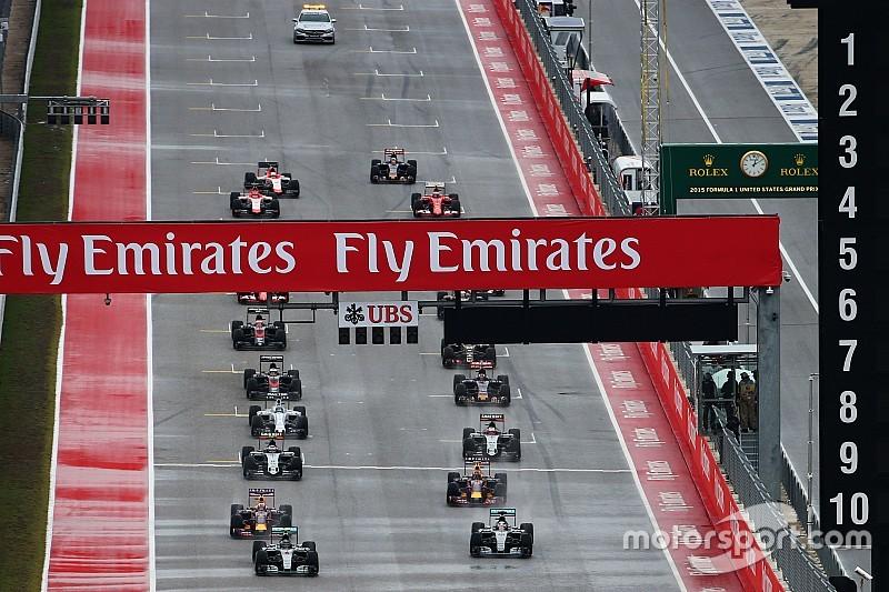«فيا» تؤكّد أنّ روزنامة موسم 2016 للفورمولا واحد تتضمّن 21 سباقاً