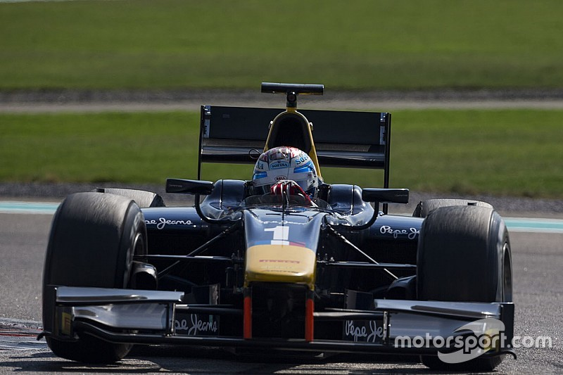 Latifi tops Day 2 of Abu Dhabi test for DAMS