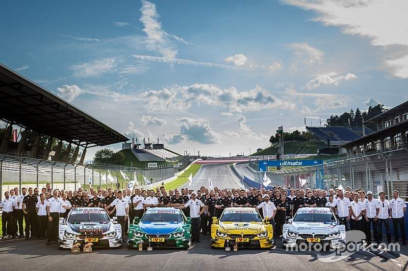 No changes to BMW's DTM line-up for 2016