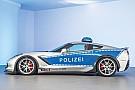 Une Chevrolet Corvette de police pour promouvoir le tuning légal