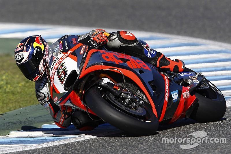 Aprilia peilt in der MotoGP-Saison 2016 die Top 10 an