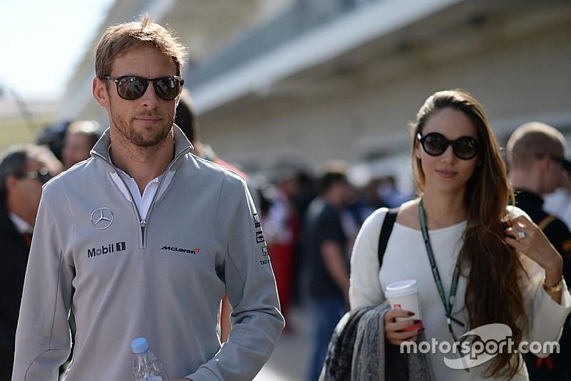 Jenson Button en vrouw Jessica zijn uit elkaar
