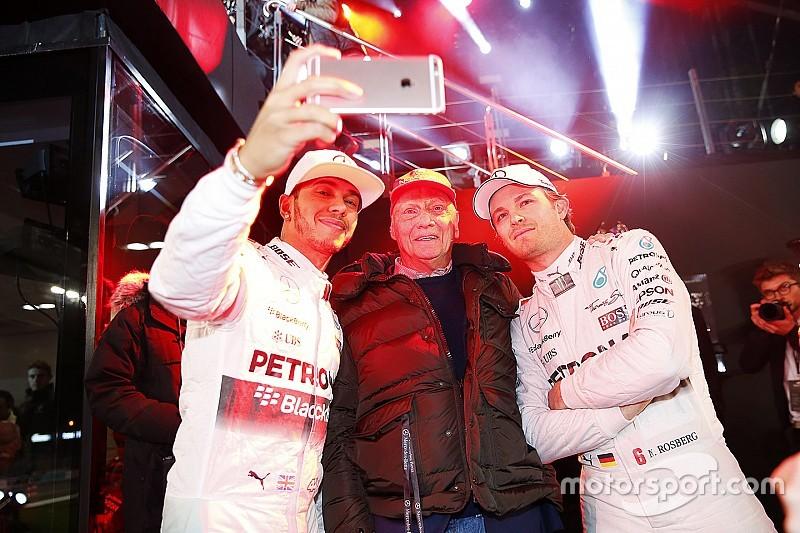 """Rosberg, confirma la importancia de Lauda como """"el pacificador"""""""