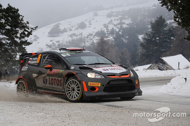 Robert Kubica start in Monte Carlo Rally