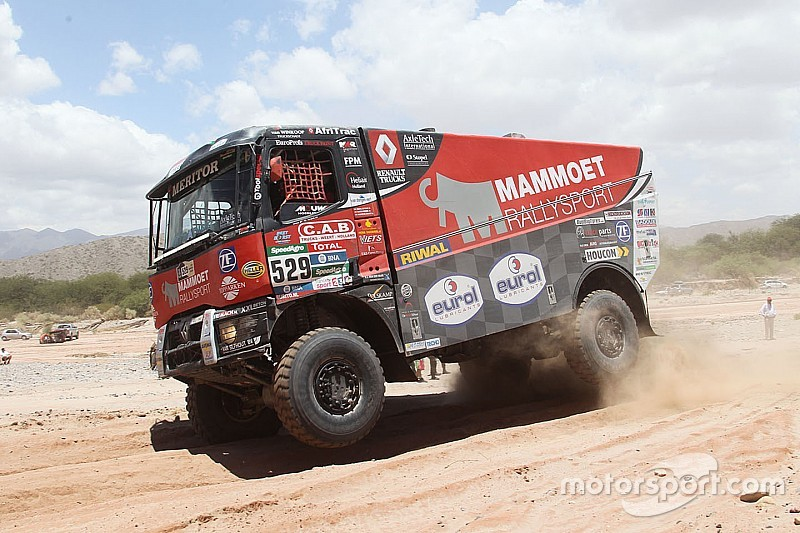 Dakar Trucks Stage 10 Shock Win For De Baar As Rooy Takes Decisive Lead
