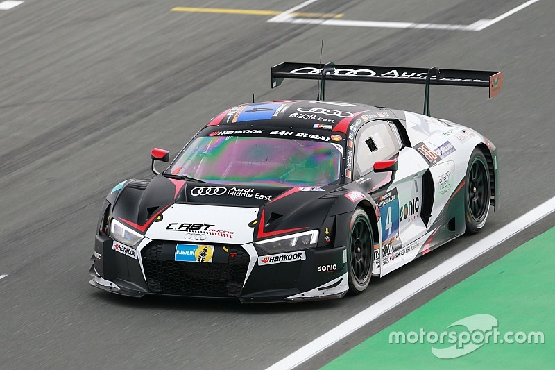 Audi teams lock out front row of the grid for 24H Dubai