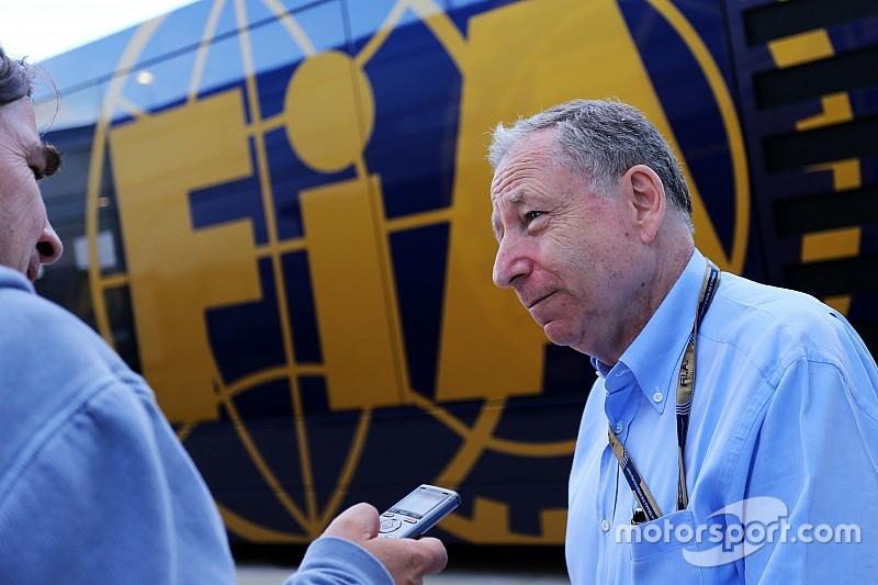 """Todt diz que solução para motores da F1 está """"muito próxima"""""""