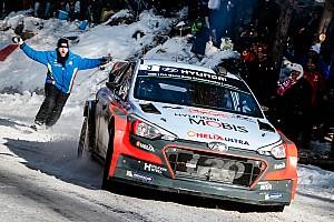 WRC Prova speciale Monte-Carlo, PS12: primo acuto della i20 WRC 2016!