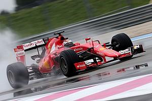 Formula 1 Test Raikkonen:
