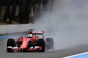 Formula 1 Test Ricard, Day 2: Vettel chiude davanti a tutti sull'acqua
