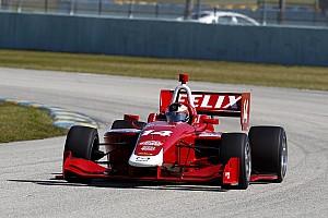 Indy Lights Testbericht Bestzeit beim Test: Formel-3-Champion Felix Rosenqvist überzeugt bei den Indy Lights