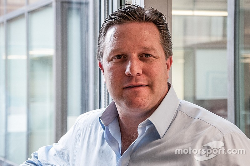 موقع موتورسبورت.كوم يعيّن زاك براون رئيساً غير تنفيذي