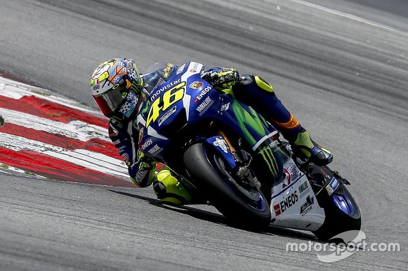 Rossi diz que ainda não está confortável com moto de 2016