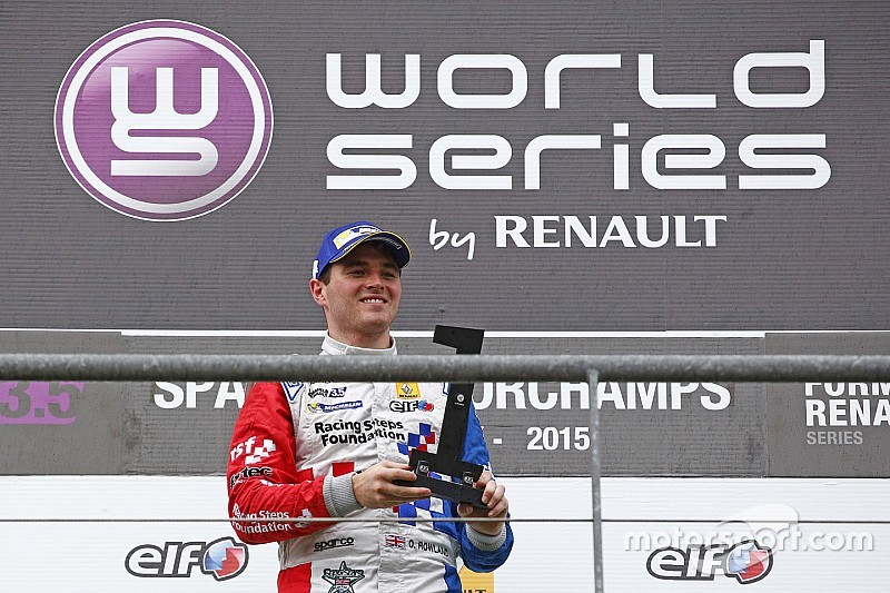 Rowland headlines first intake of Renault's new Academy