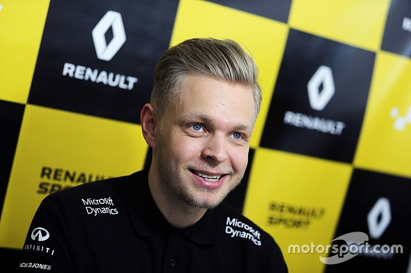 Магнуссен рассчитывает бороться за титулы вместе с Renault